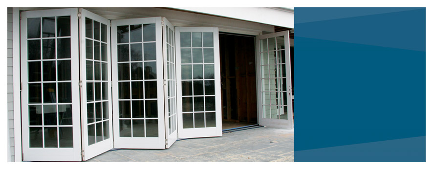 Exterior Folding Glass Doors 886 x 349